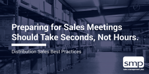 Preparing for Sales Meetings