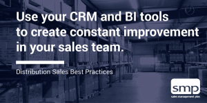 constant improvement in your distribution sales team