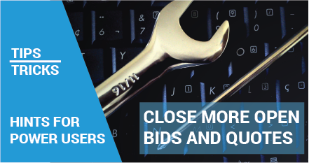 tips and tricks close more open bids and quotes smp